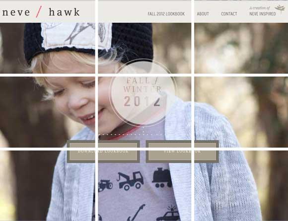 子供服のメールマガジン例