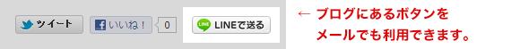 LINEのブログ・パーツをメールで利用する